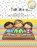 Reading - Dub Cards - Talk like a... Making reading FUN on