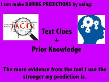 Reading During Predictions Poster