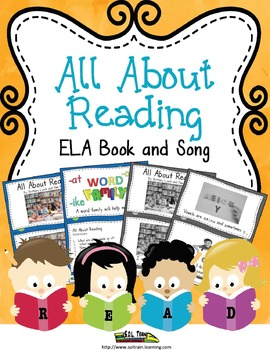Reading Vocabulary  Book and Song With Comprehension Questions