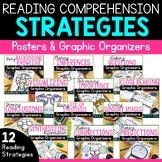 Reading Comprehension Strategies Posters & Graphic Organiz