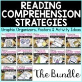 Reading Comprehension Strategies Posters & Graphic Organiz
