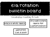 Reading (ELA) Rotation Bulletin