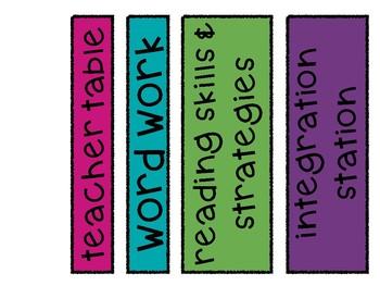 Reading (ELA) Rotation Bulletin (Colored)