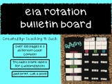 Reading (ELA) Rotation Bulletin (Colored)