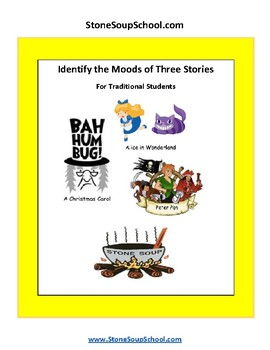 Grade 3 - 5  Identify Mood of Stories Based on Story Details - Reading