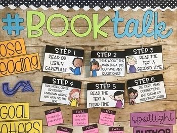 Reading: Editable Bulletin Board Kit