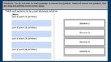 Reading Editable TEI Google Slides Templates VA SOL 5th Test Prep
