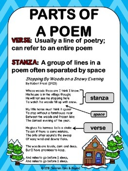 reading elements of poetry poster set by common core and beyond tpt. Black Bedroom Furniture Sets. Home Design Ideas