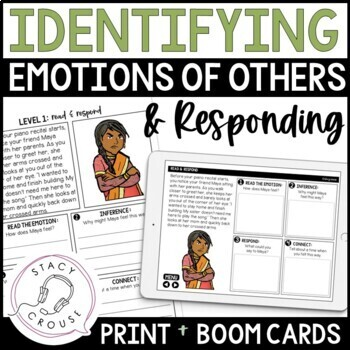 Reading Emotion and Responding in Social Situations