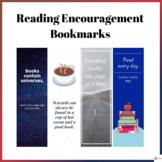 Reading Encouragement Bookmarks Volume 3
