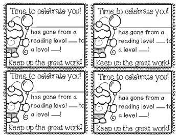 Reading Encouragement Notes