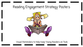 Reading Engagement Strategy Posters