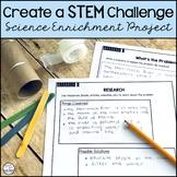 Enrichment Project   STEM #distancelearningtpt