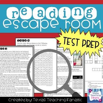 Reading Escape Room