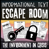 Reading Escape Room - Middle School ELA Test Prep - Digita