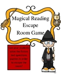 Halloween Reading Escape Room : Magical Themed