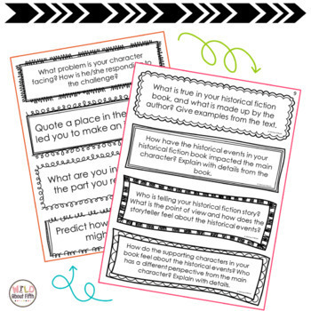 Reading Exit Slips - BUNDLE - (Grades 3-6)