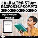 Reading Exit Slips - Character Study - Distance Learning