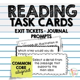 Reading Task Cards Common Core Aligned
