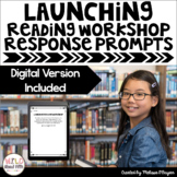 Reading Exit Tickets | Launching Reading Workshop | Distance Learning