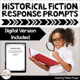 Historical Fiction - Reading Exit Slips (Grades 4-6)