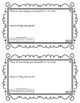 Reading Exit Slips Kindergarten Informational Text ELA CCSS