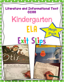 Reading Exit Slips Kindergarten Mega Bundle