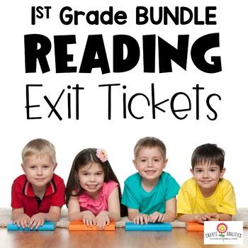 Reading Exit Ticket BUNDLE 1st