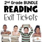 Reading Exit Ticket BUNDLE 2nd
