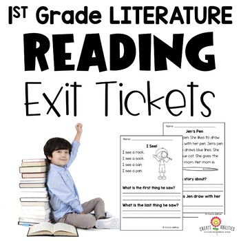Reading Exit Tickets 1st Grade