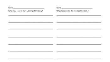 Reading Exit Tickets