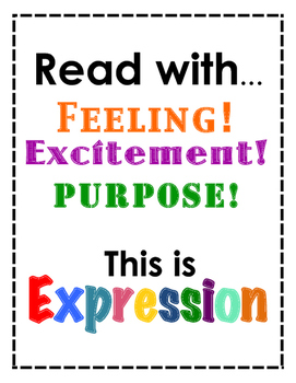 Reading Expression Poster