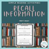 Reading Extended Standard 4.2