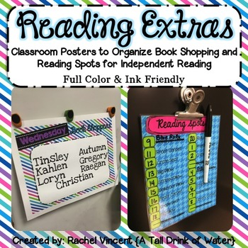 Reading Extras for Independent Reading