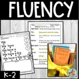 Reading Fluency Practice Activities | Kindergarten & 1st G