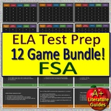 Reading FSA (Florida Standards Assessment) ELA Test Prep Games Bundle