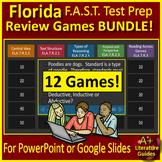 Reading FSA (Florida Standards Assessment) ELA Test Prep Games Bundle