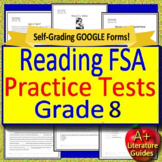 8th Grade FSA Reading Test Prep Comprehension Passages and Questions