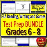 Reading FSA and Writing FSA Test Prep BIGGEST Bundle with 12 ELA Review Games