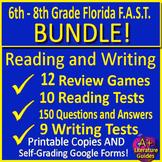FSA Writing and Reading Test Prep BIGGEST Bundle + Games - Self-Grading Google