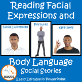 Reading Facial Expressions and Body Language - BASiCS and Beyond Social Stories