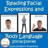Reading Facial Expressions and Body Language-BASiCS and Beyond Social Narratives