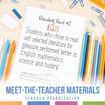 Secondary Meet the Teacher Night and Freshmen Orientation Materials