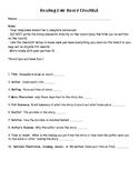 Reading Fair Checklist