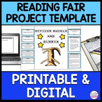 Reading Fair Project for Google Drive ~ Fiction