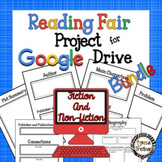 Reading Fair Project Bundle for Google Drive ~ Fiction and Non-Fiction