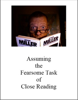 Reading Fearfully Close: (Are Gene and Finny Gay?) Common Core Essentials
