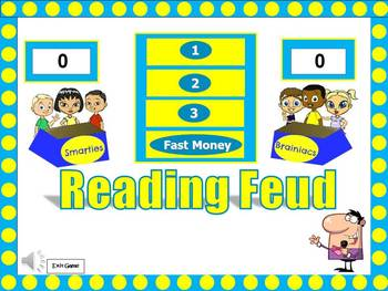 Reading Feud Powerpoint Game: PERFECT before State Test!!