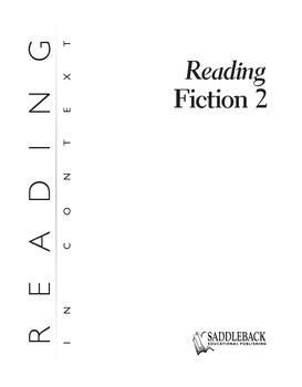 Reading Fiction 2