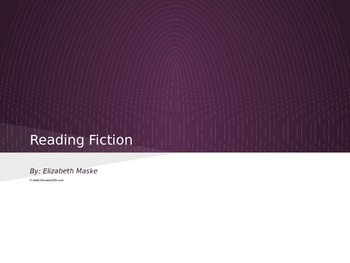 Reading Fiction Powerpoint